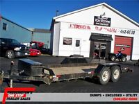 2013 TILT DECK TRAILER 7 X 18 HEAVY DUTY