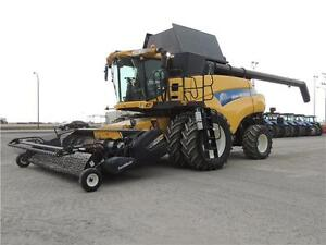 "2011 New Holland CR9090 ""Z"" Elevation Combine, 24 MOS INT FREE"