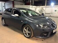 Seat Leon 2.0 T FSI FR 2008 08 Reg / Grey / Lovey Clean Car / Finance Available / * GTI A3 TDI Sport