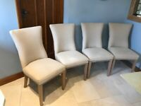 Set of four dining/kitchen chairs