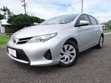 2013 Toyota Corolla ZRE182R Ascent Silver 7 Speed CVT Auto Sequential Hatchback Bungalow Cairns City Preview
