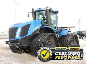 2014 New Holland T9.615 SmartTrax - High Idler, PTO, MegaFlow
