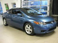 2006 Honda Civic Coupé LX MANUEL 5 VITESSE, 85$/2SEM.