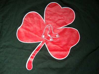MLB Boston Red Sox St. Patricks Day Sportswear Fan Apparel  T Shirt Size XL
