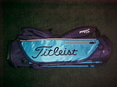 TITLEIST PLAYERS 4 PLUS GOLF CARRY STAND BAG NEW TB9SX4 GLACIER BLUE  NAVY 4+
