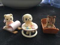 Sylvanian Families babies bundle