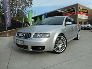 2004 Audi S4 B6 Quattro Silver 6 Speed Manual Sedan Coopers Plains Brisbane South West Preview