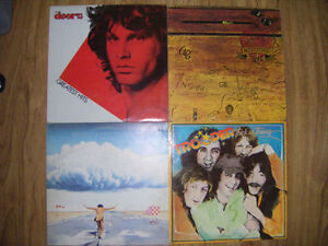 4 collectible records for sale