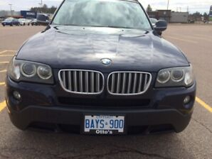 2010 BMW X3 3.0 (V6) AWD -NAVY ON BROWN