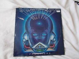 Vinyl LP Frontiers – Journey CBS 25261 Stereo 1982