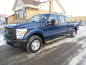 2011 FORD F250 XL Super Duty Crew Cab 8Ft Box RWD ONLY 19,000KMs