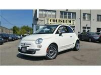 2012 FIAT 500C LOUNGE-CONVERTIBLE-LEATHER-AUTOMATIC
