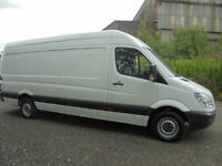 MERCEDES SPRINTER 313 CDI LWB JUST OF SERVICE FROM CARPET CO £8450+VAT