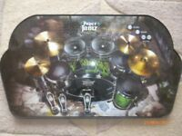 Paper Jamz instant rock star drum set