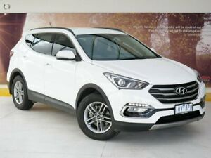 2017 Hyundai Santa Fe DM3 MY17 Active White 6 Speed Sports Automatic Wagon Collingwood Yarra Area Preview