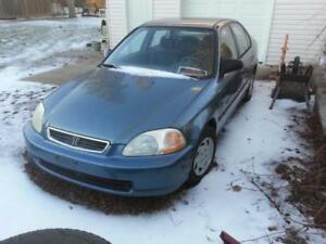 1996 HONDA CIVIC PARTS CAR