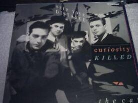 Vinyl LP Keep Your Distance Curiosity Killed The Cat ) Vinyl LP Mercury CAT LP1 Stereo