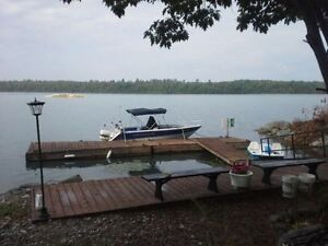 5000 sf home on 3 acres 200' on North Channel of lake Huron