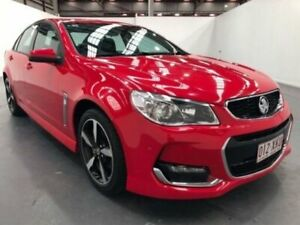 2017 Holden Commodore VF II MY17 SV6 Red 6 Speed Automatic Sedan Fyshwick South Canberra Preview
