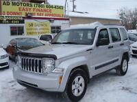 2012 JEEP LIBERTY 4X4 AUTO LOADED 98K-100% APPROVED FINANCING