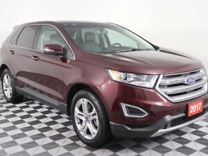 2017 Ford Edge w/HEATED LEATHER, PANORAMIC ROOF, NAVIGATION, SON