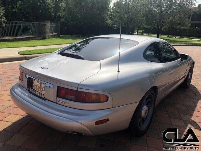 Image 20 Voiture Européenne d'occasion Aston Martin DB7 1998
