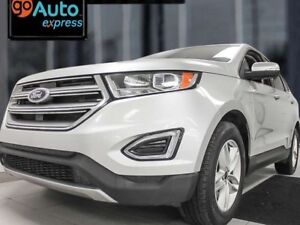 2015 Ford Edge SEL AWD ecoboost with heated power leather seats