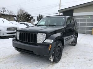 2008 Jeep Liberty Sport***NO ACCIDENT***WINTER TIRES w/ STUDS***