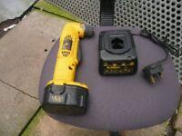 Dewalt batery angle drill