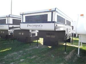 2016 Palomino Backpack SS1240 Pop up Truck Camper with Toilet