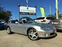 2001 Mazda MX-5 NB30P2 Silver 6 SPEED Manual Softtop Southport Gold Coast City Preview