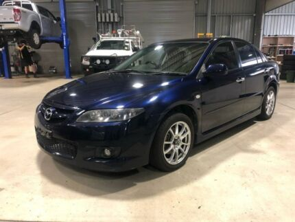 2007 Mazda 6 Luxury Sports Luxury Sports Blue Manual Hatchback Goulburn Goulburn City Preview