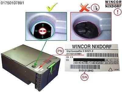 Wincor Atm Ccdm Value Cassette 3 Sk21.2 Pn 1750107891
