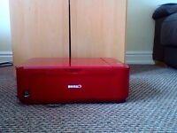 Canon pixma gloss red printer.