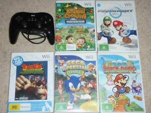 Wii Video Games lot of 5 plus controller Bulli Wollongong Area Preview