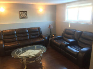 Spacious Fully Furnished Two-bedroom Basement suit