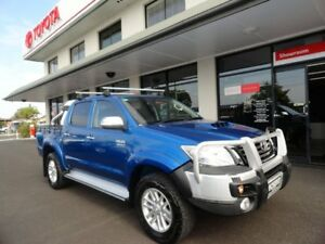 2014 Toyota Hilux KUN26R MY14 SR5 Double Cab Blue 5 Speed Automatic Utility West Ballina Ballina Area Preview