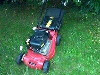 Sovereign Self Propelled Petrol Rotary Lawn Mower, only 3 years old and in Excellent Condition.