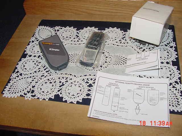 Dimplex Model APT-1315, Remote Control, NEW - Open Box!