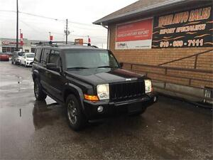 2006 Jeep Commander**4X4**LEATHER***7 PASSENGER***ONLY138 KMS***