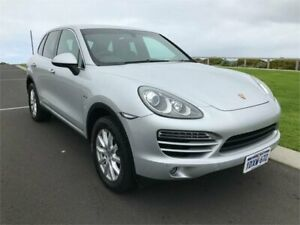 2012 Porsche Cayenne Series 2 MY13 Diesel Silver 8 Speed Automatic Tiptronic Wagon Margaret River Margaret River Area Preview