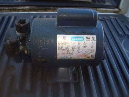 Leeson Waste Oil Pump