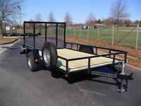 UTILITY TRAILER UTILITY 6,4X12 SINGLE AXLE