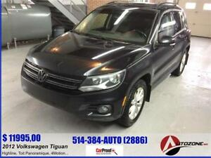 2012 Volkswagen Tiguan Highline 4MOTION/CUIR/TOIT PANORMAIQUE