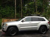 2011 Jeep Grand Cherokee cuir noir VUS