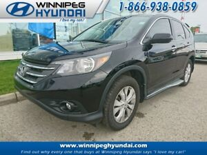 2014 Honda CR-V Touring AWD Leather Sunroof Heated Seats