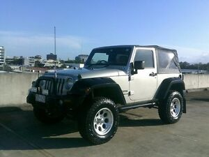 2007 Jeep Wrangler JK Sport Silver 6 Speed Manual Softtop Southport Gold Coast City Preview