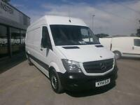 Mercedes-Benz Sprinter 313 LWB 3.5T High Roof Van DIESEL MANUAL WHITE (2014)