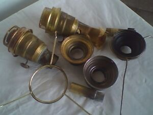 Antique Aladdin Lamp Parts ( As Found)