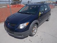 2003 Pontiac Vibe Hatchback Manual Certified Ready to go $3,495